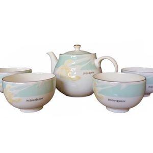 YSL Collection x Yamaka 🌼 Vintage Tea Pot Set
